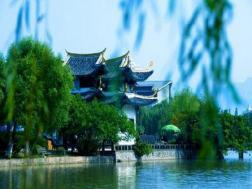 温州国际大酒店(挂牌4星)1晚+游江心东园(江心屿)